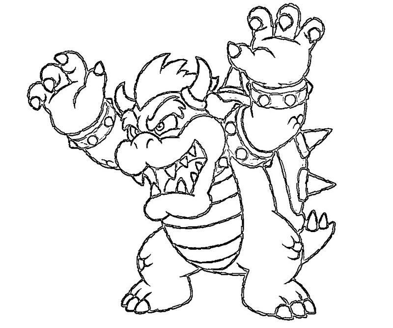 Koopaling Coloring Pages To Print