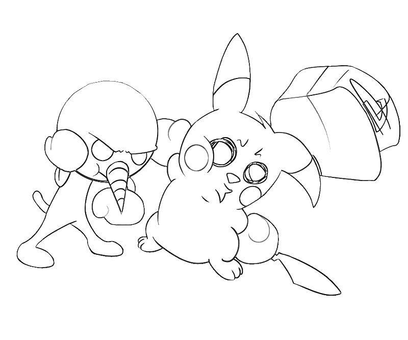 Plue Pikachu