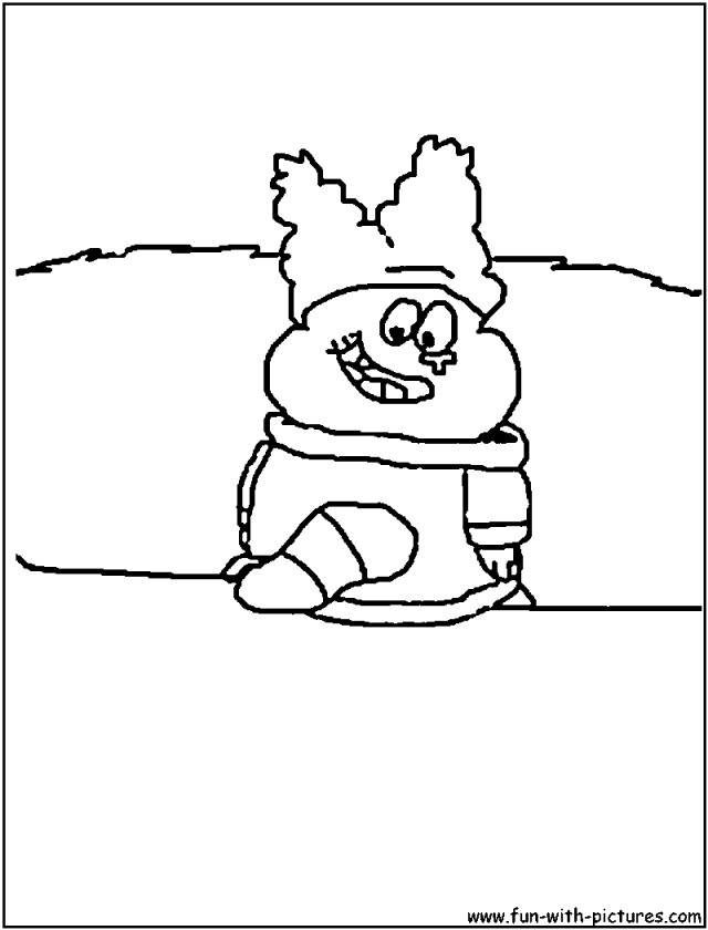 Chowder Coloring Pages To Print - Coloring Home