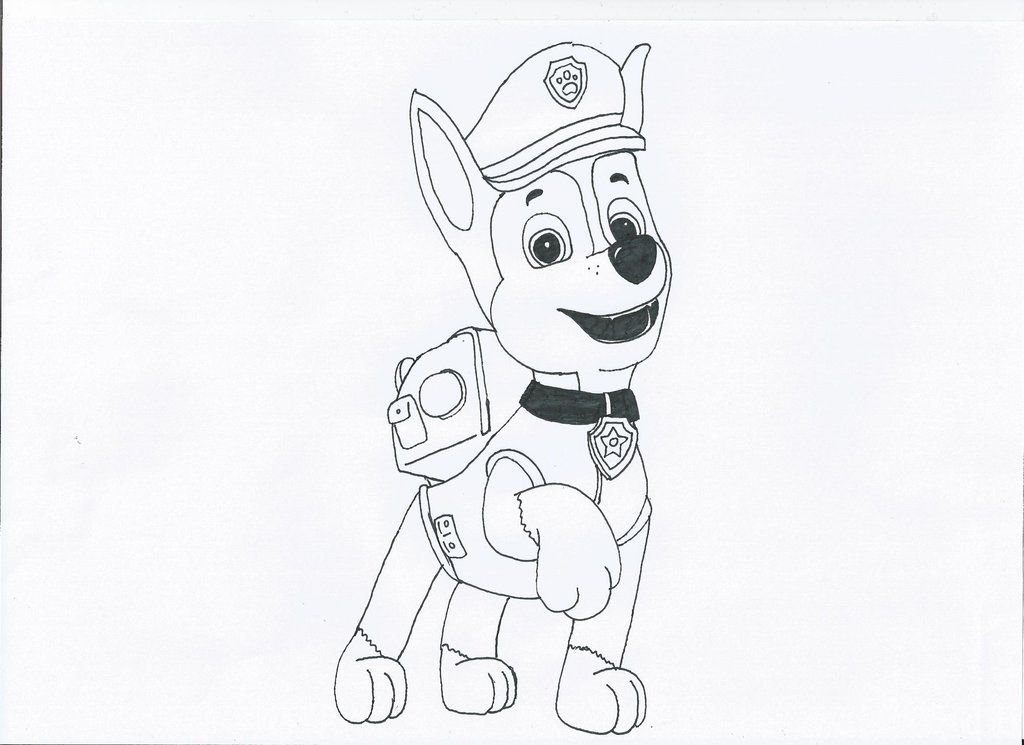 Cozy Paw Patrol Birthday Coloring Pages 4 Happy Birthday