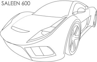 Speed Car Coloring Pages   Coloring Home