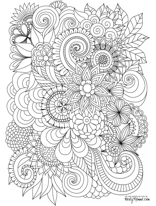 Page Coloring ~ Advancedwer Mandala Coloring Pages Page Free