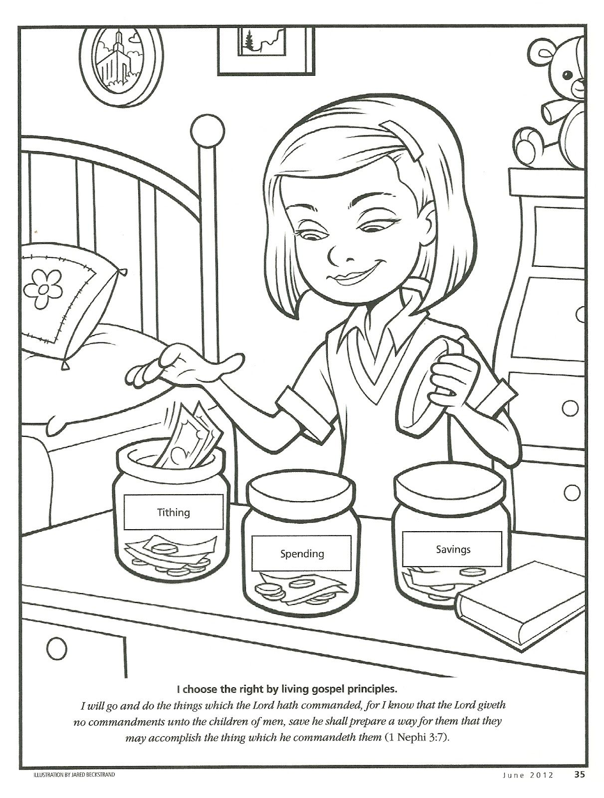 Pictures And Coloring Pages O Tithing And Offeri G