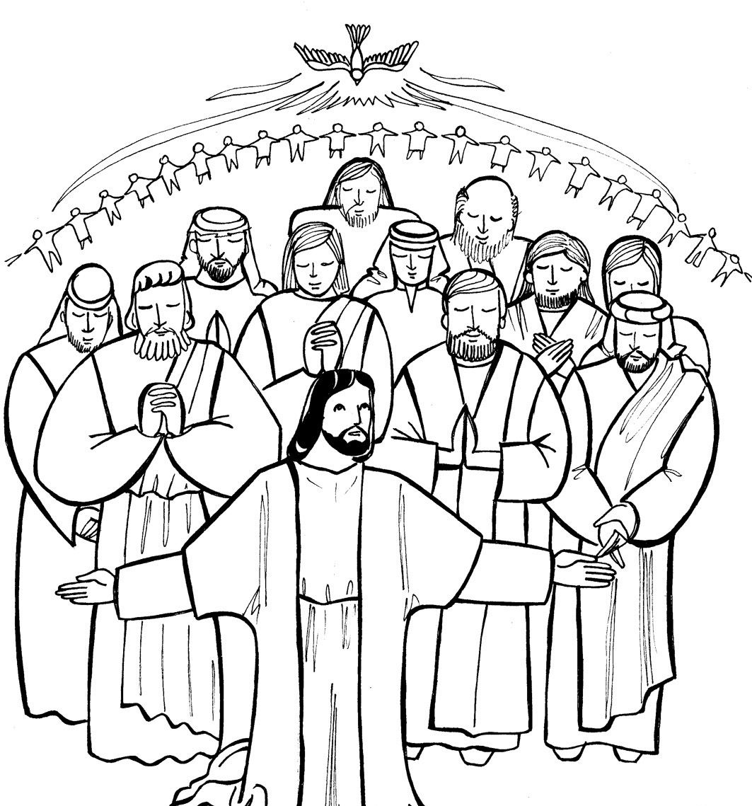 All Saints Day Coloring Pages