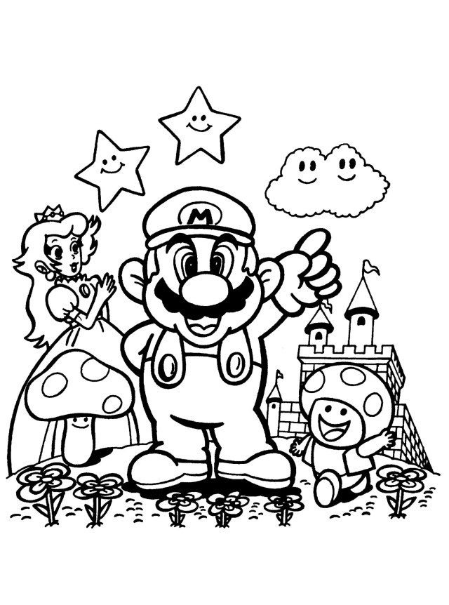 Super Mario Images To Print Coloring Pages Best Of Super Mario