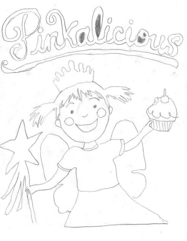 pinkalicious coloring pages # 9
