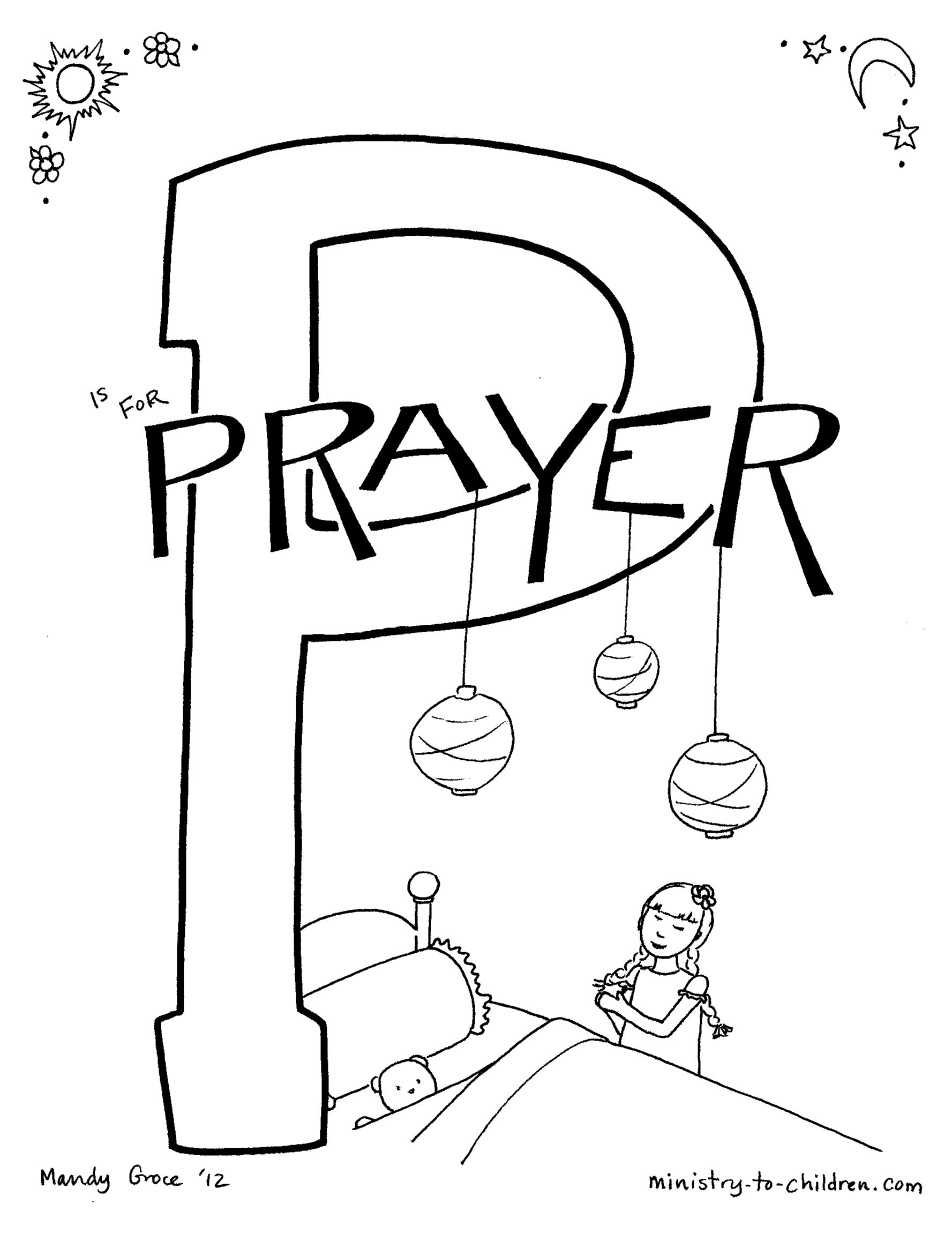 Hannah Bible Story Coloring Page