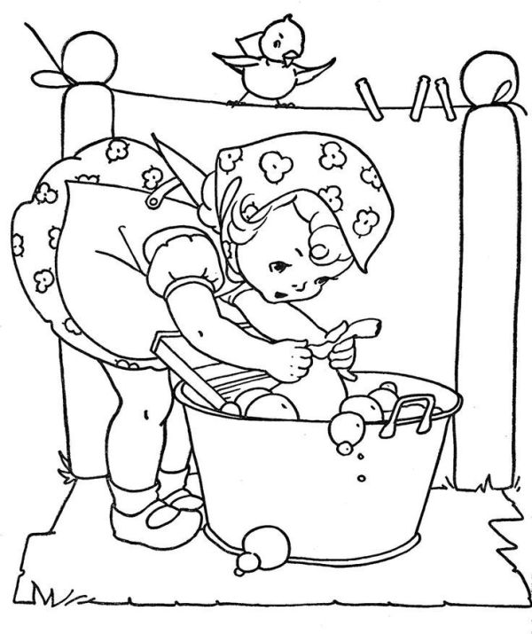vintage coloring pages # 25