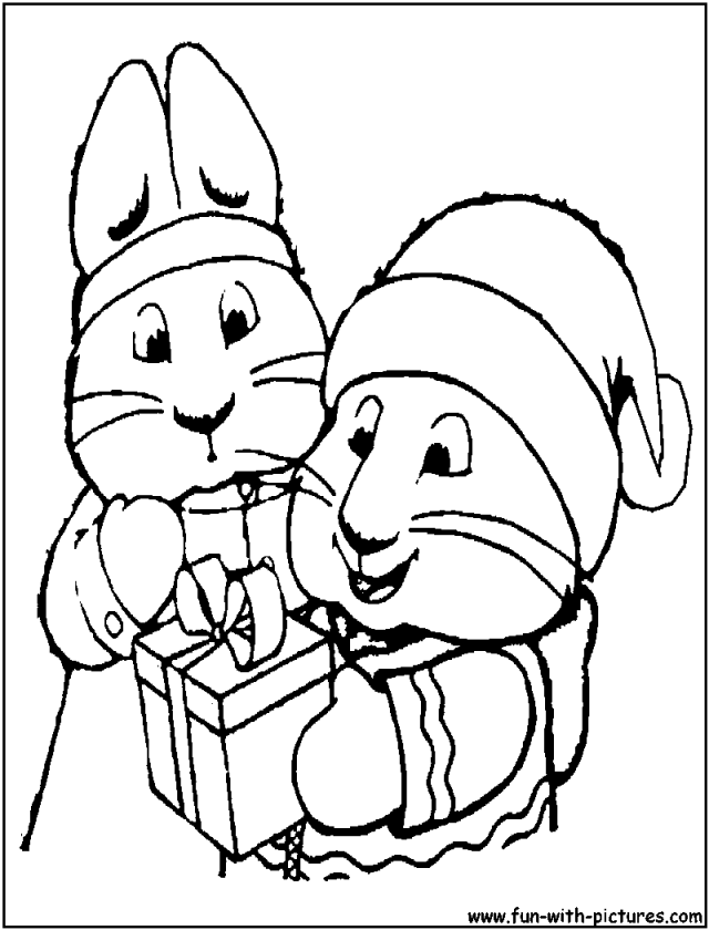 Coloring Page Max And Ruby 7