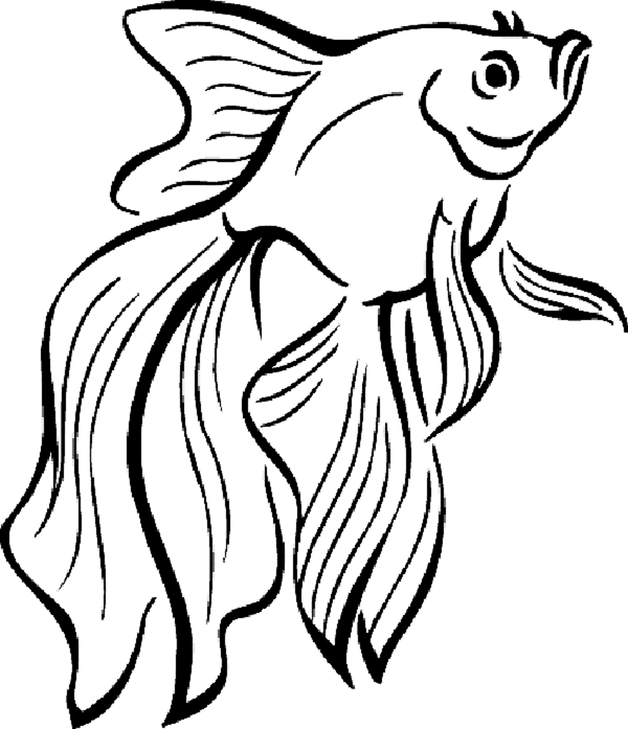 Pout Pout Fish Coloring Pages