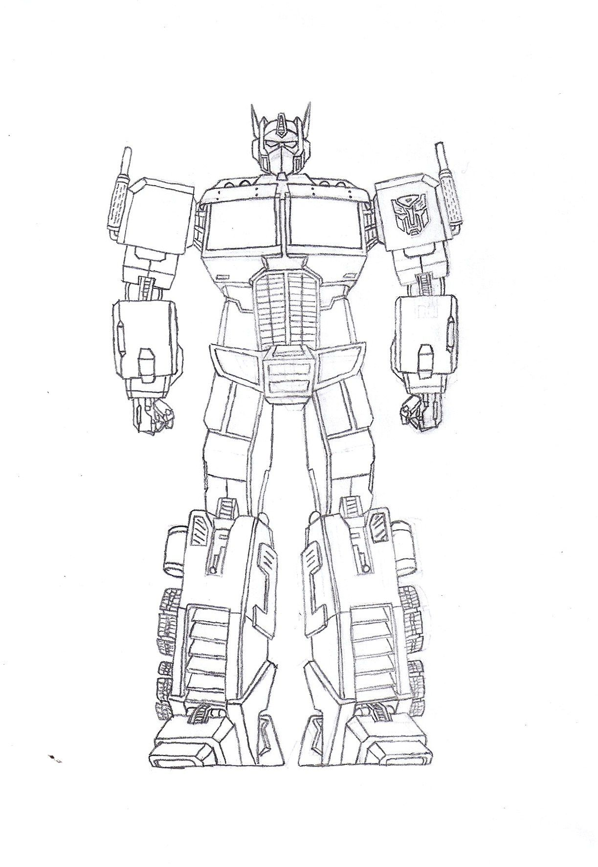 Free Transformers Octimus Prime Coloring Pages To Print