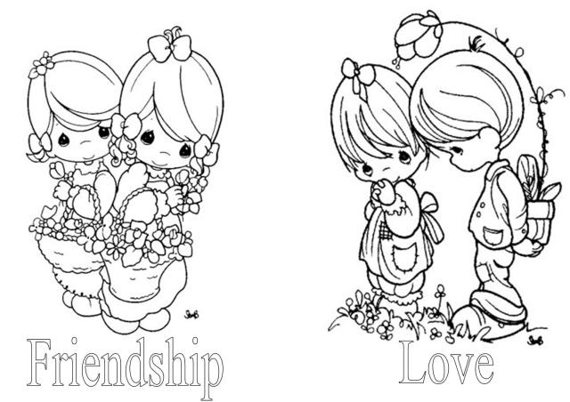 Autumn Precious Moments Coloring Pages - Coloring Pages For All