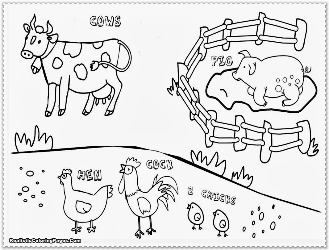 Back At The Barnyard Coloring Pages