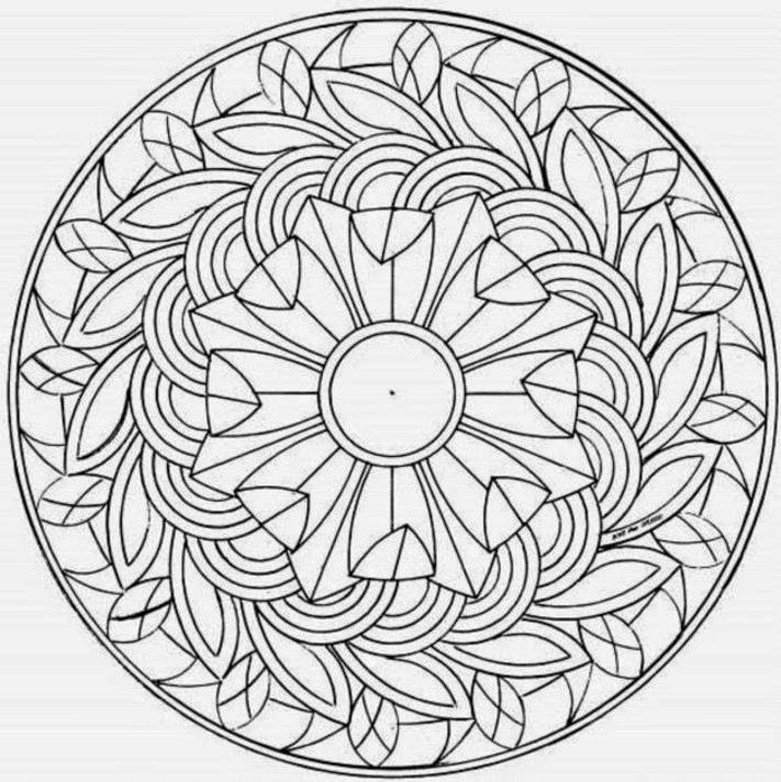 Fun Coloring Pages For Teenagers Printable