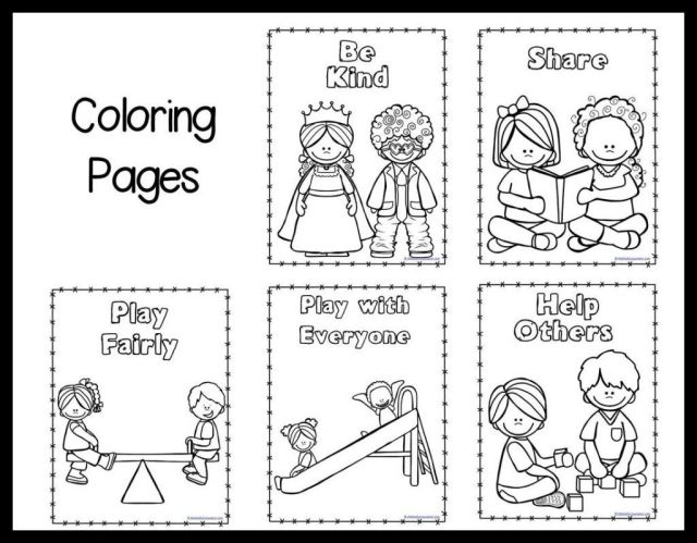 Respect Others Coloring Page - Coloring Home