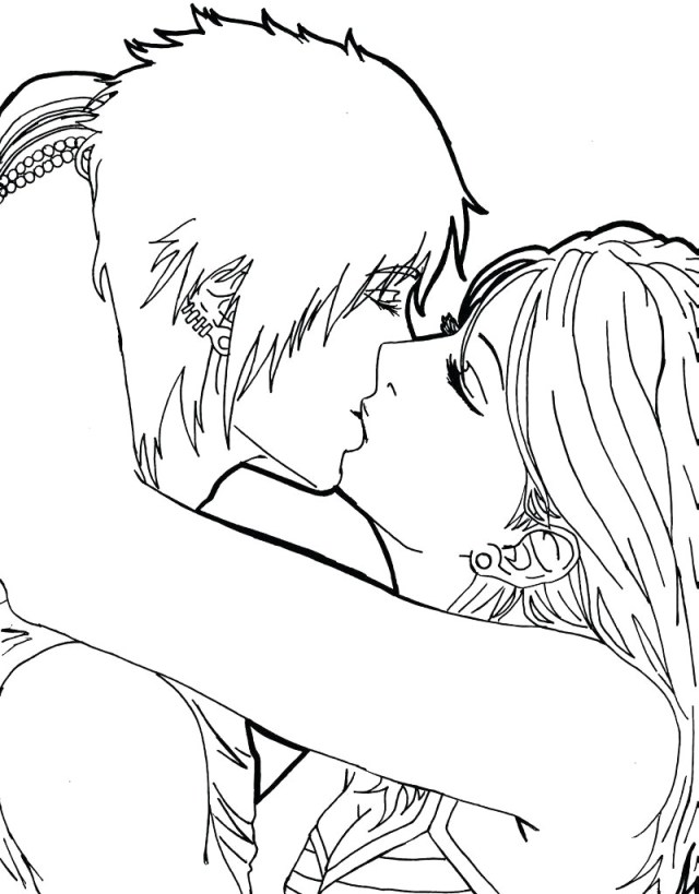 Couples Coloring Pages - Coloring Home
