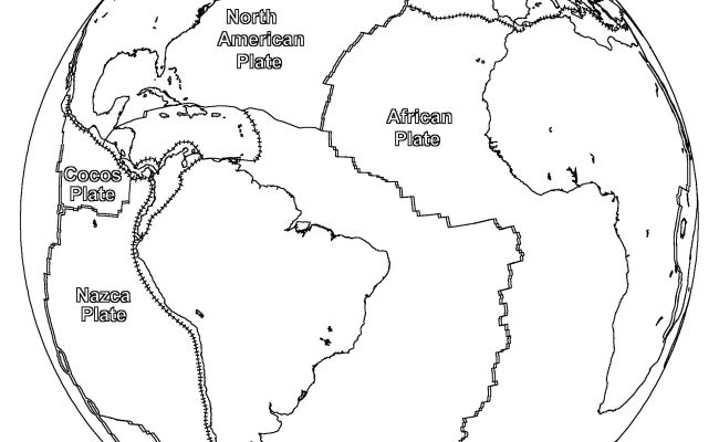 Free Printable World Map Coloring Pages For Kids Best Dokter Andalan