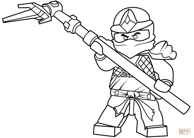 Ninjago Cole Coloring Pages - Coloring Home