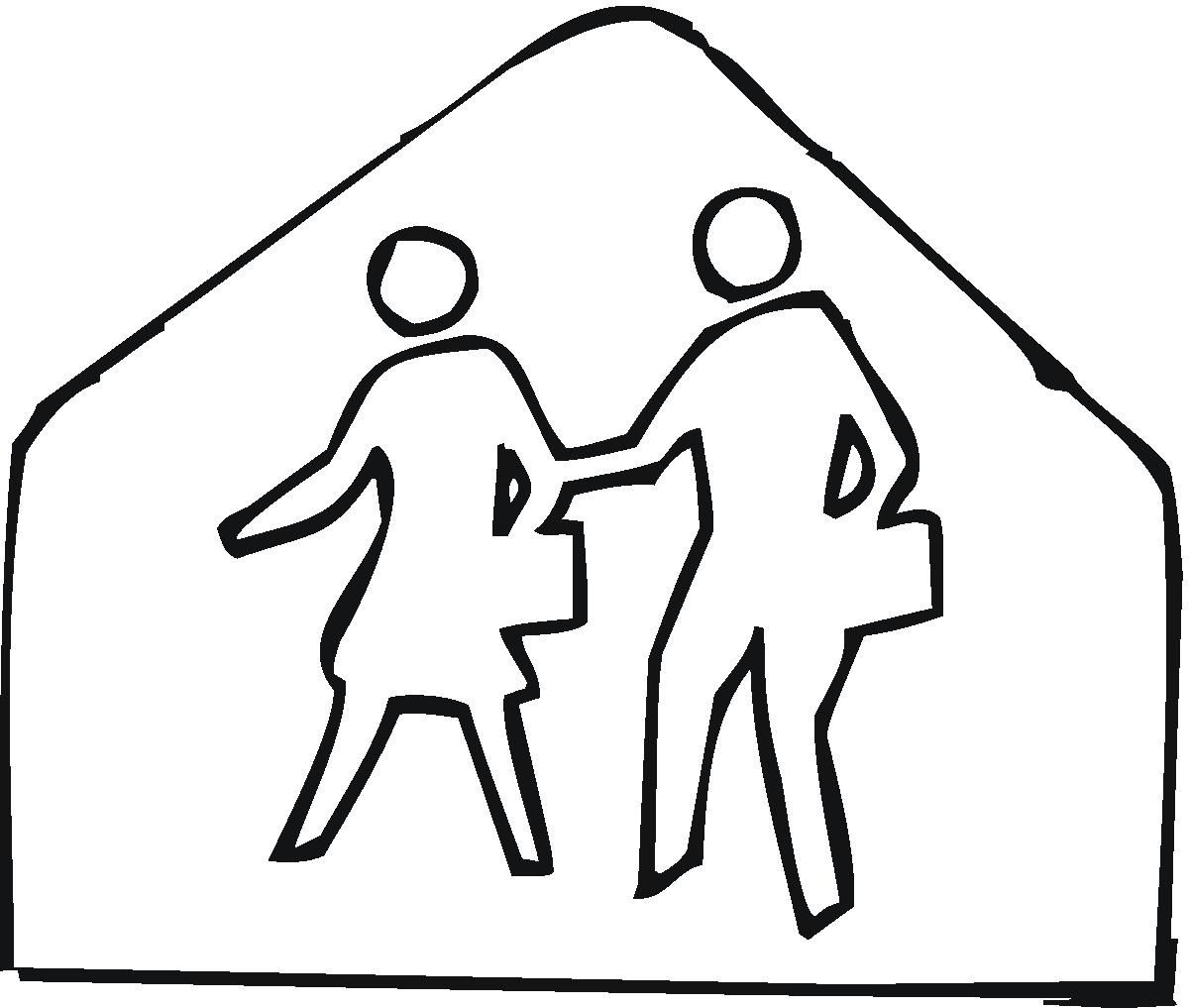 Safety Signs Coloring Pages