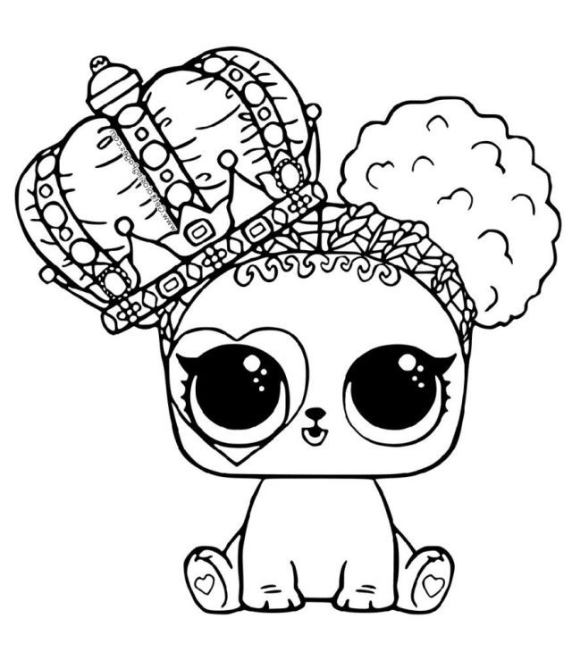 Coloring Pages : Lol Pet Coloring Pages The Best Printable