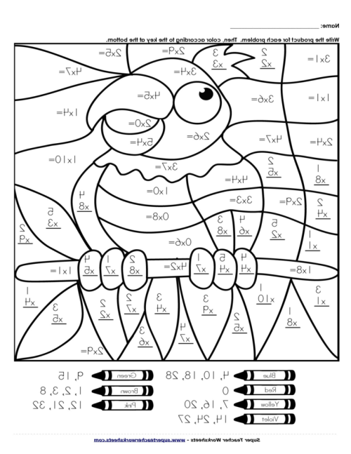 small resolution of Maths Coloring Pages - Coloring Home