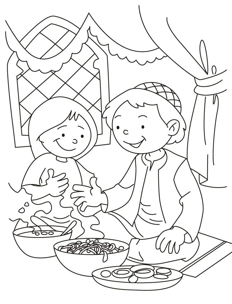 ramadan coloring pages  coloring home
