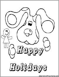Happy Holidays Coloring Pages - Coloring Home