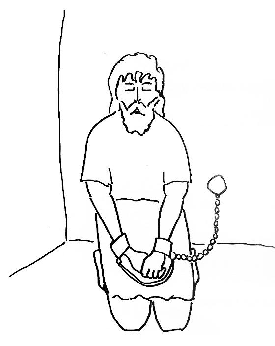 Paul In Prison Coloring Page Home Sketch Coloring Page