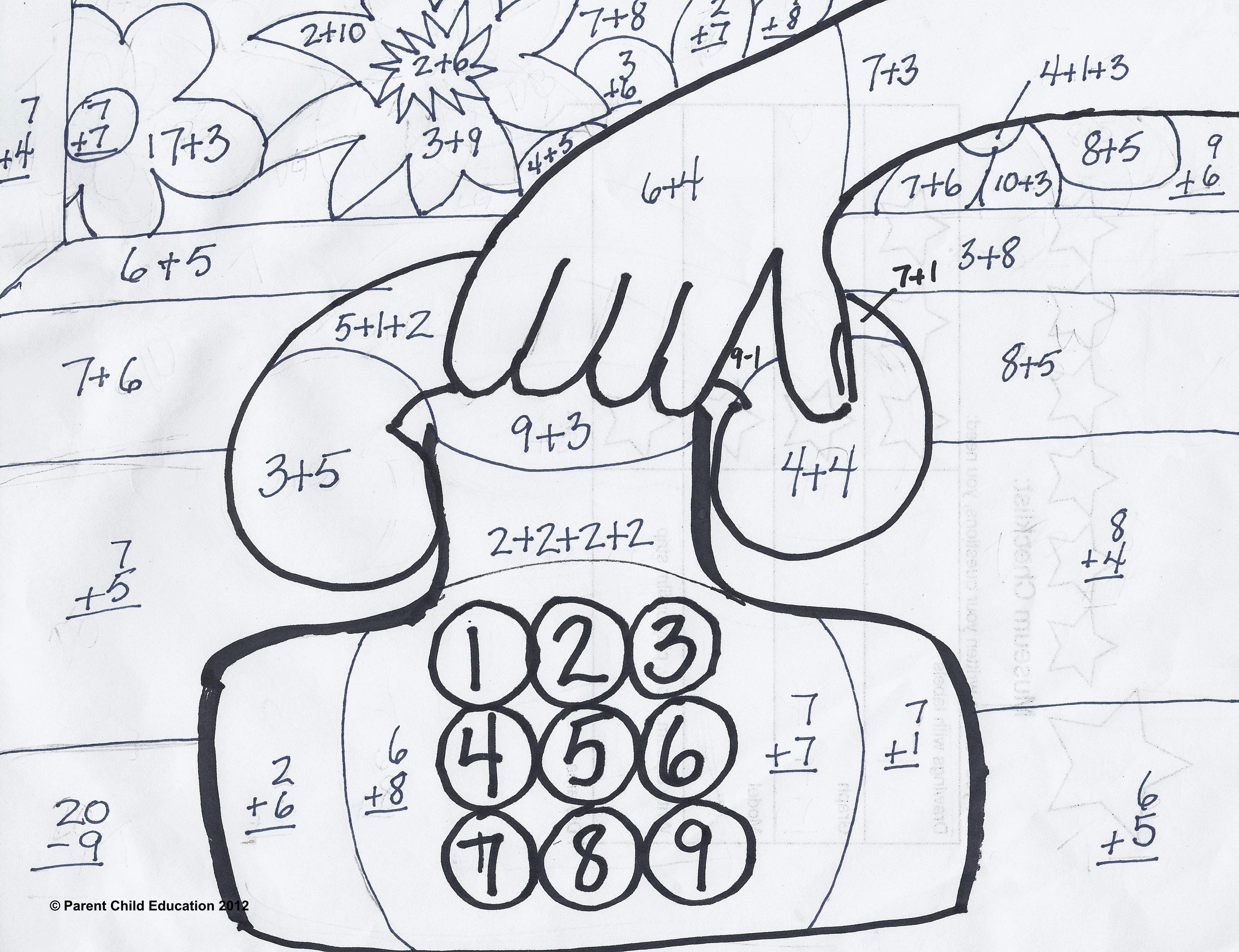 Coloring Multiplication Worksheets Grade 4
