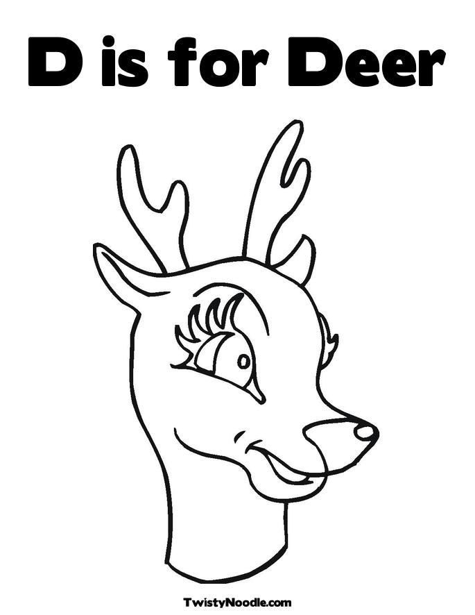 white tailed deer coloring page  coloring home
