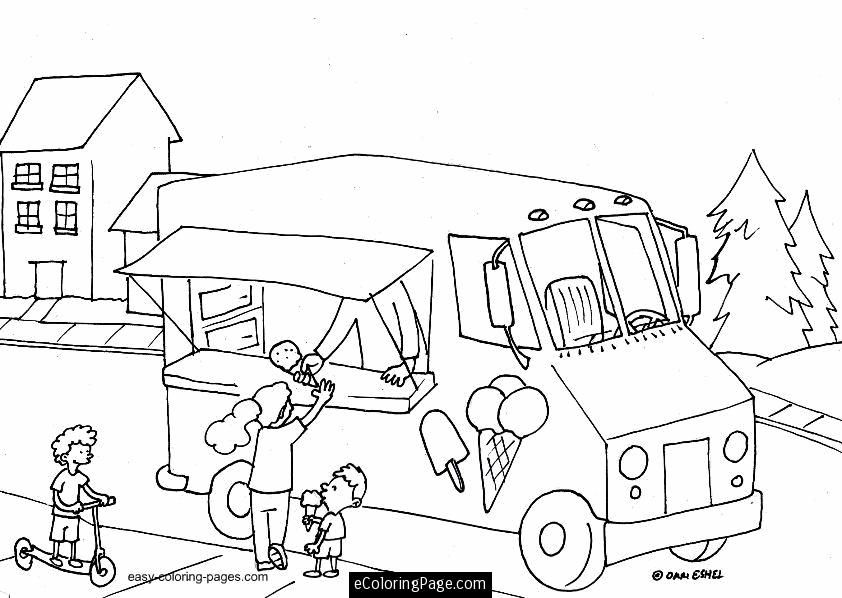 Printable Ice Cream Coloring Pages Coloring Home