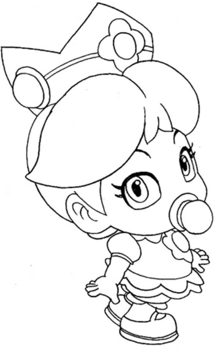 Baby Princess Coloring Pages : princess, coloring, pages, Princess, Coloring, Pages