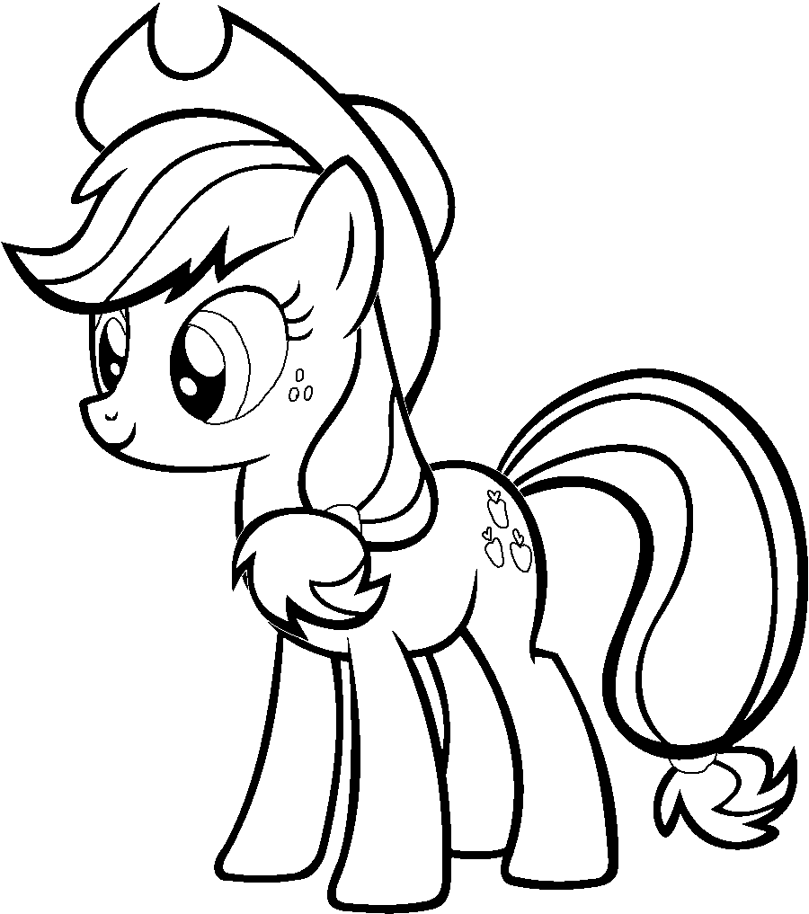 Applejack Coloring Pages Online Coloring Coloring Home