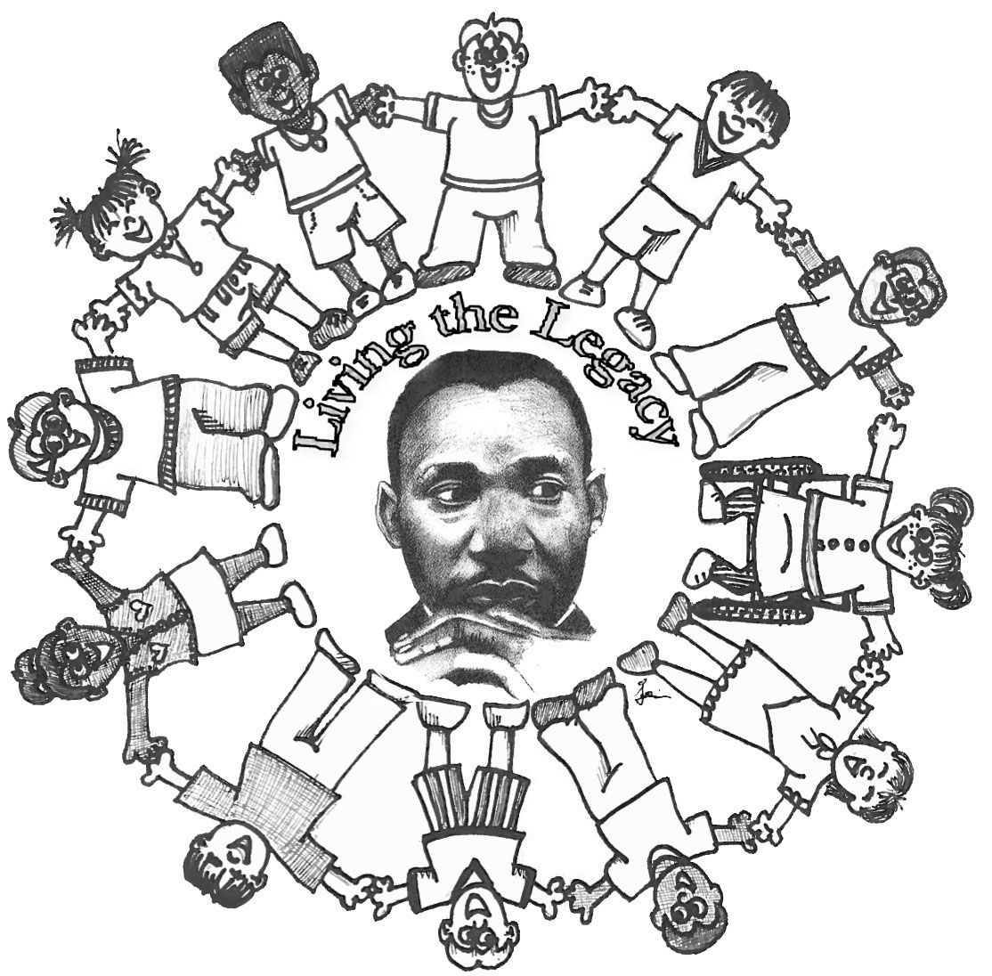 Coloring Pages Of Martin Luther King Jr