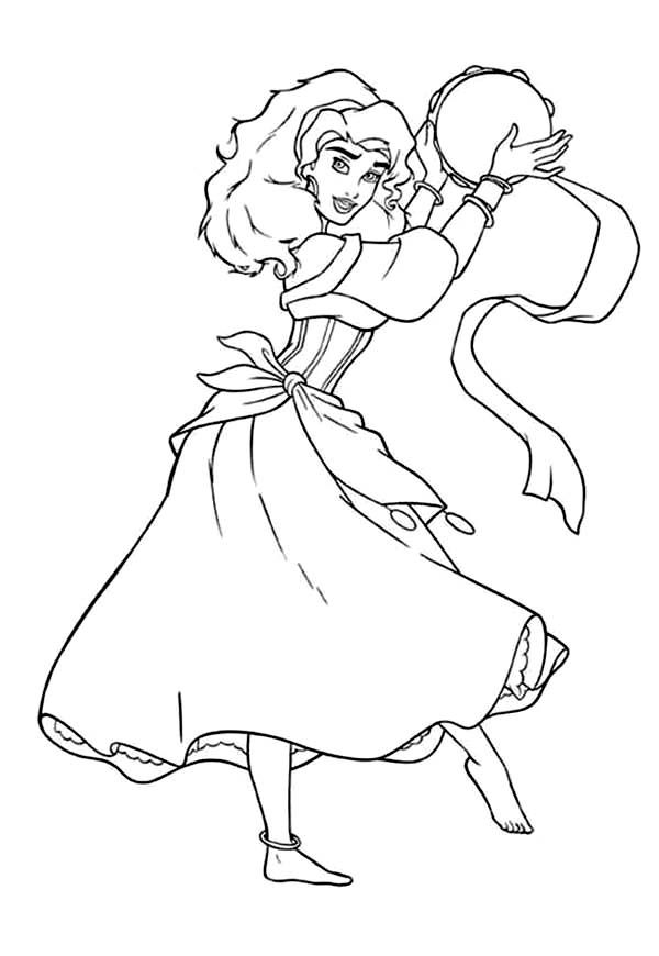 Hunchback Of Notre Dame Coloring Pages Coloring Home