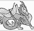 Xcgnalgoi backgrounds coloring pages realistic for mobile hd elegant realistic dragon has