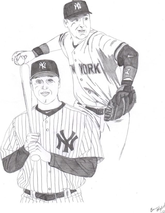 Yankees Coloring Page - Coloring Home