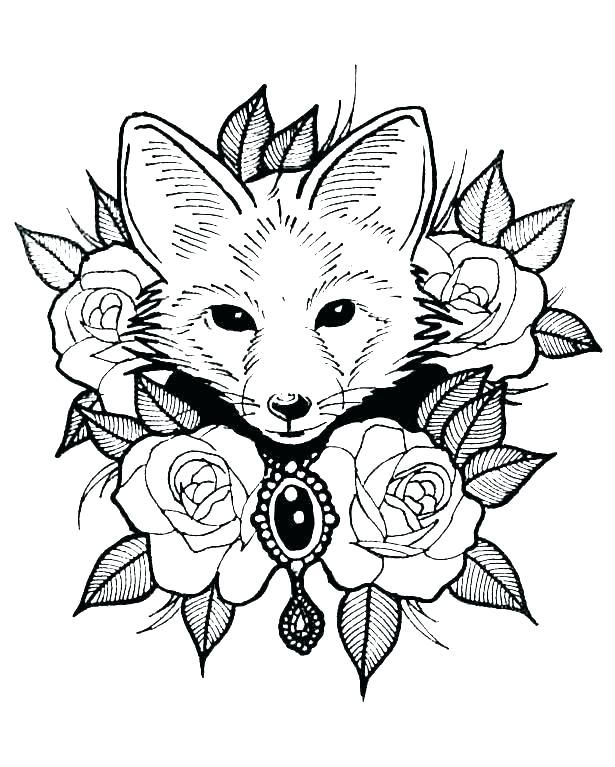 Realistic Animal Coloring Pages : realistic, animal, coloring, pages, Forest, Animals, Coloring, Pages, Printable