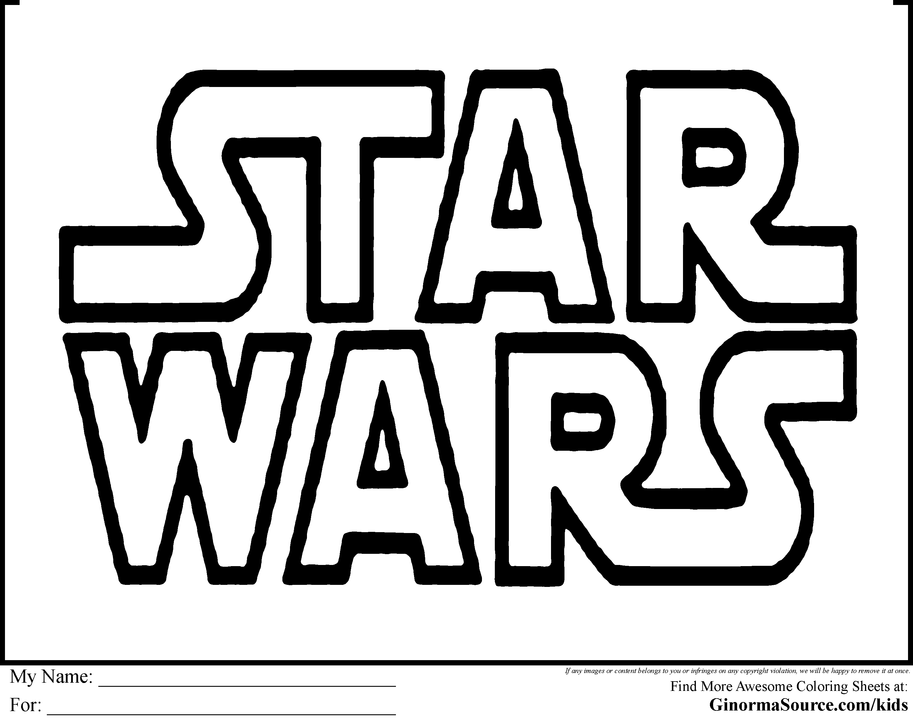 Star Wars Lego Free Coloring Pages