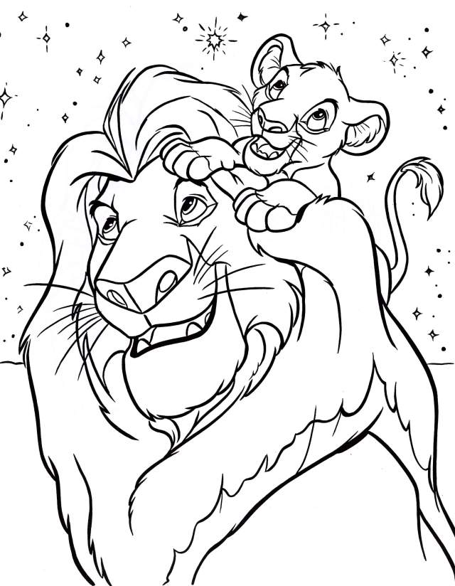 Of Disney Characters - Coloring Pages For Kids And For Adults