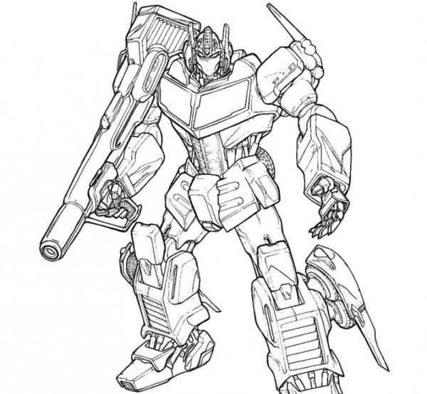 transformers prime coloring pages # 4