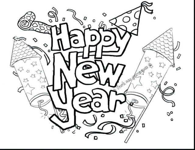New Years Coloring Pages For Adults 28 - Coloring Home