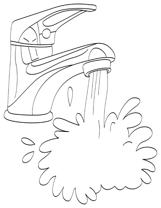 Water Coloring Pages For Kids Water Coloring Page Sheets