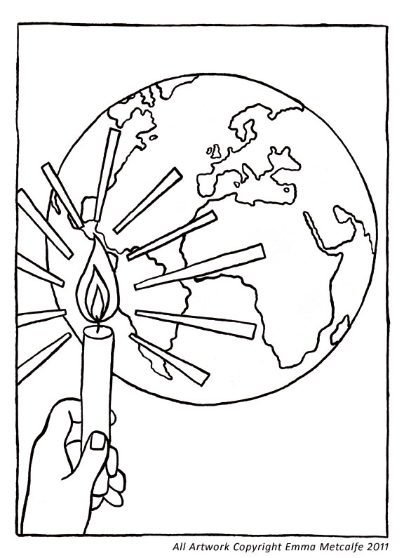 Coloring Pages Of A Shepherds