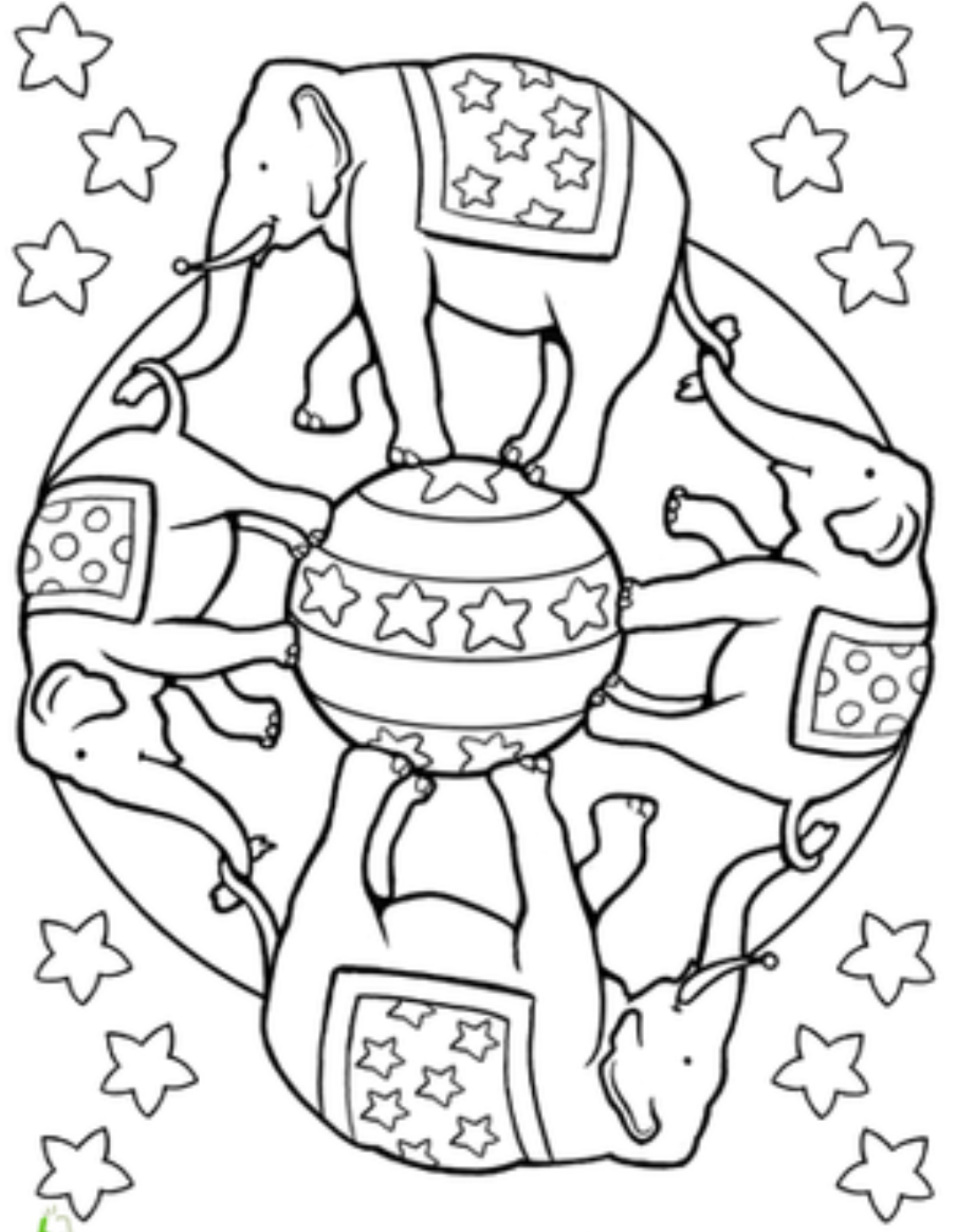Jojo Circus Coloring Pages