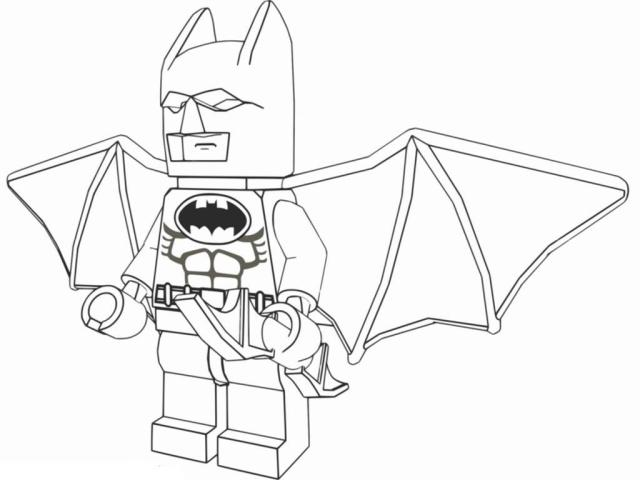 Lego Batman Coloring Pages Cartoon Archives - Printable Free