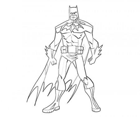 Deathstroke Batman Arkham Knight Coloring Pages Sketch