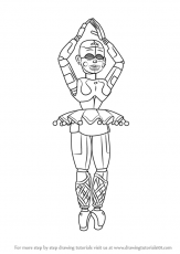Fnaf Baby Coloring Pages : coloring, pages, Learn, Ballora, Nights, Freddy's, (Five, Freddy's), Drawing, €�, Coloring, Pages,, Sister, Location,, Drawings