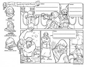 My Homeschool Printables » History Coloring Pages Volume 1