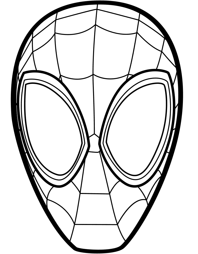 Free Spider-Man Into the Spider-Verse Coloring Pages
